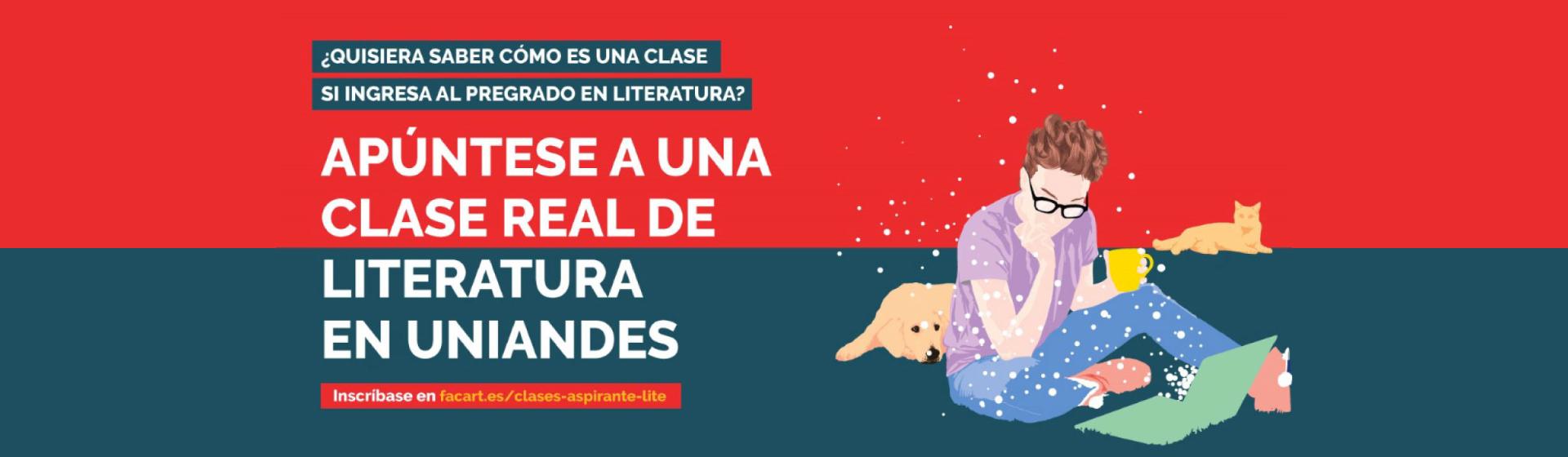 CLASE REAL DE LITERATURA EN UNIANDES