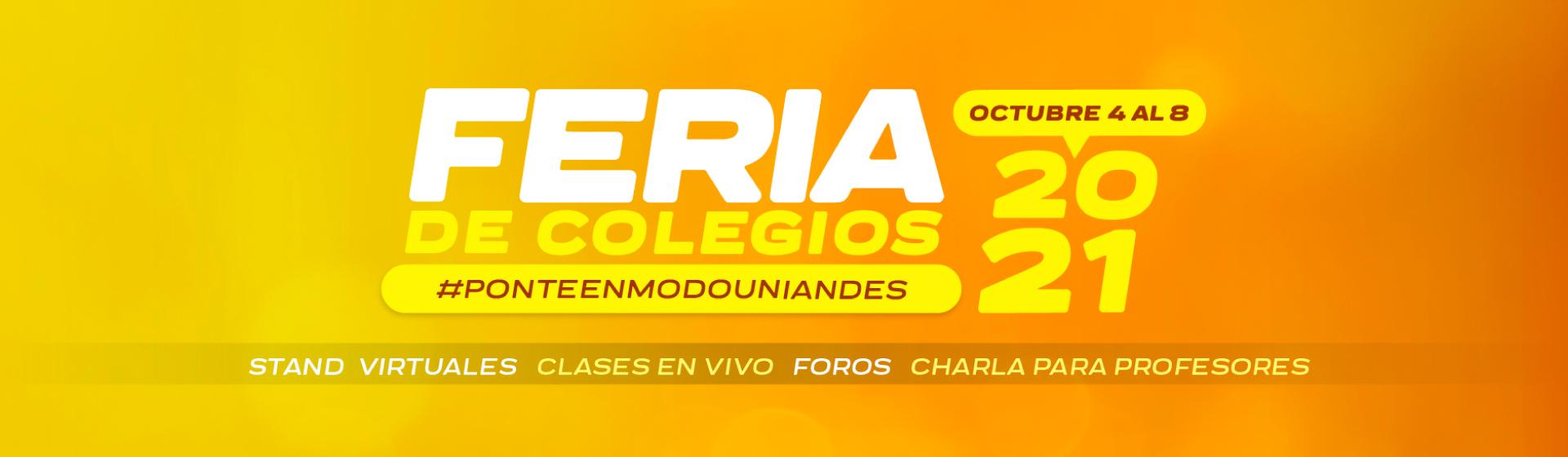 Feria de Colegios 2021-2
