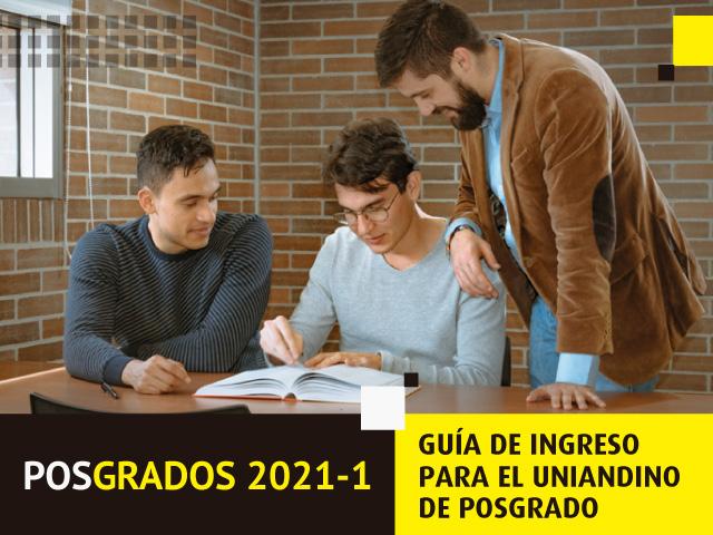 Guía de ingreso a Posgrado en Uniandes